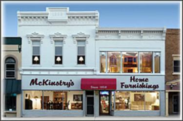 Mckinstry's home Furnishings, Since 1858